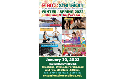 Pierce College Extension Winter-Spring 2020-2021 Catalog