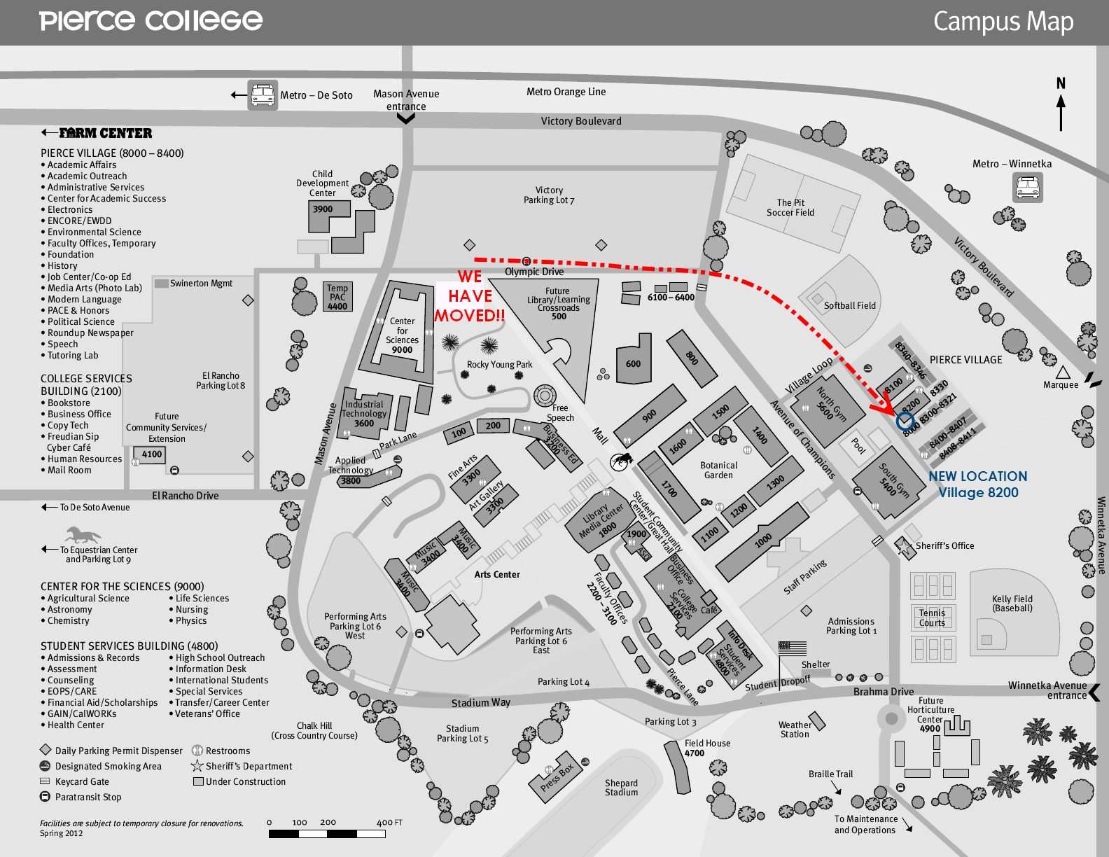 Pierce College Map Pierce Extension Home Page Pierce College Map